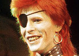 Image of Bowie was a pop and folk singer until he hit upon the notion of Ziggy Stardust, a flamboyant, androgynous figure from another world in 1972.