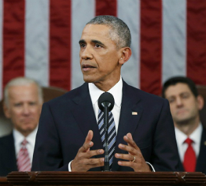 Obama delivers lackluster State of the Union speech, uses time to criticize Trump