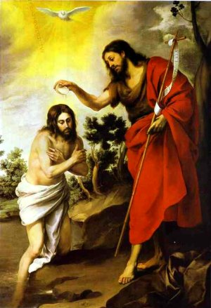 The Baptism of Jesus in the Jordan is also called the Theophany, or manifestation of God in the Christian Tradition.