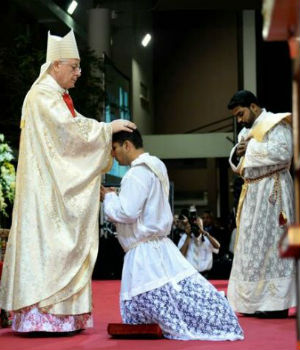 Vocations on the rise: Two Capuchin Franciscan priests ordained in Abu Dhabi