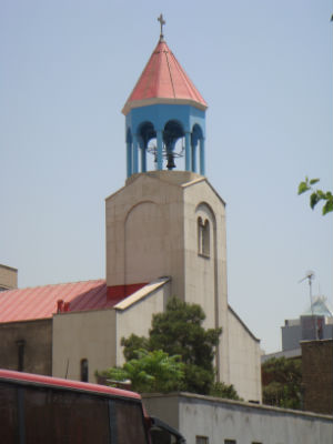The Chaldean Catholic Church was confiscated and is doomed to be converted to a mosque (WikiMedia Commons).