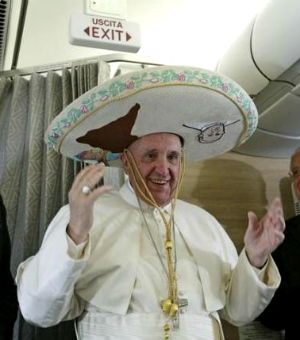Pope Francis' greeting to journalists during flight from Rome to Cuba (FULL TEXT: English)