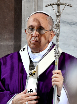 Pope Francis' special Ash Wednesday message for 'Keep Lent' initiative