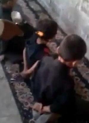 Brainwashed Iraqi Children Play Shocking Game By Shooting