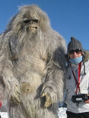 Evidence of the Yeti? Footprints in Himalayan snow said to be of abominable snowman