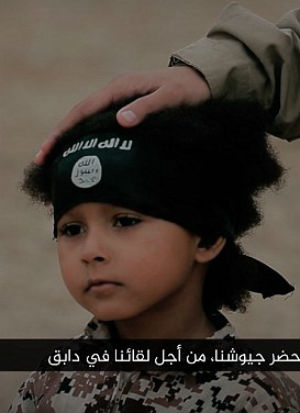 Latest ISIS video features Jihadi Junior KILLING three ISIS prisoners