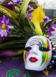 Image of Mardi Gras is famous for its colors, masks, beads, food, floats and more (Pixabay)!