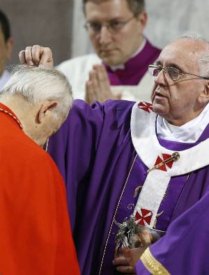 POPE'S MASS: Ash Wednesday (FULL TEXT: English)