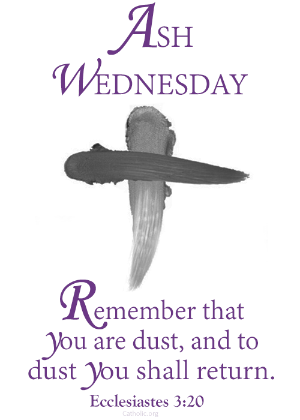 Your Daily Inspirational Meme: Ash Wednesday