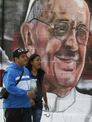 TOTALLY defeating Pope's purpose, Mexico City kills puppies, uproots homeless for papal visit