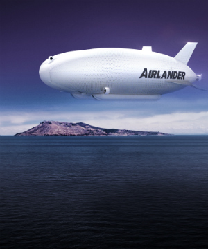 'Part plane, part helicopter' world's largest aircraft, Airlander 10 begins ready for first flight