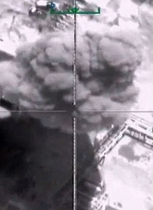 Russia in cahoots with ISIS? Russian airstrikes target civilian oil facilities