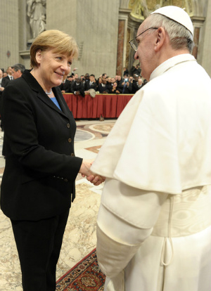 Pope Francis in hot water? Pontiff receives angry call from German Chancellor Angela Merkel