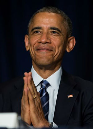 'Faith is the great cure for fear': Obama speaks at annual National Prayer Breakfast in WA