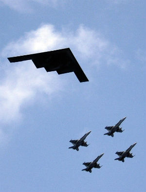 'This aircraft represe...B 52 Stealth Bomber