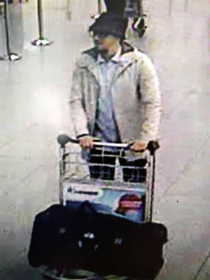 Who is the 'Man in White'? Belgium authorities embarrassingly release Brussels' main terrorist attack suspect