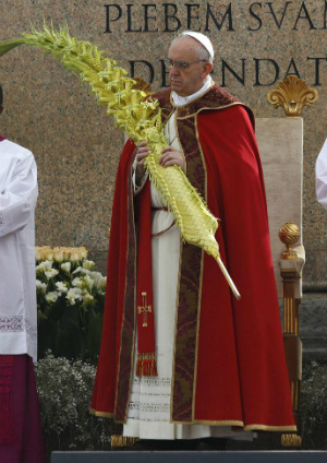 The Start Of Holy Week Pope Francis Palm Sunday Homily Full Text