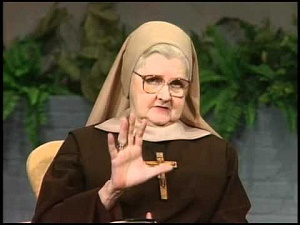 A Young Mother Angelica