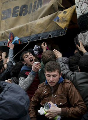 ONE MILLION migrants expected to hit Europe this year as North Africa struggles