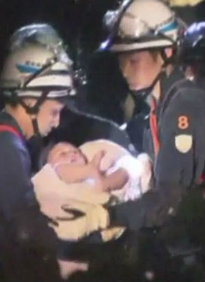 God's Intervention? Baby girl incredibly survives devastating Japan earthquake