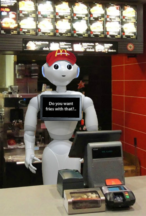 New machine about to replace ALL fast food workers -- and why that's awesome!