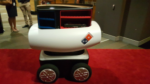 Would you eat a pizza delivered by a robot? Customers in New Zealand already can... How will this affect you?