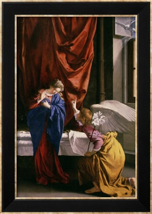 The Annunciation to Mary Reveals the Meaning of Life. Say ...