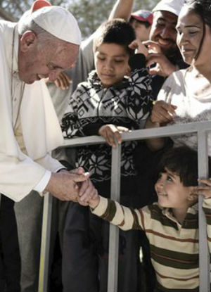 Pope Francis in Lesbos - The Pope joins other churches to call for prayer and humanitarian aid