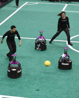 Chinese invent robots that can beat humans at soccer