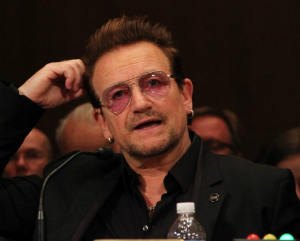WWBD? - What Would Bono do?  Tell Bono, fake humanitarian, to shut up and stick to music! Also, we need to fire EVERY member of the Appropriations subcommittee that just wasted YOUR TAX DOLLARS