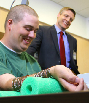 Extraordinary life-changing surgery allows paralyzed man to regain body control