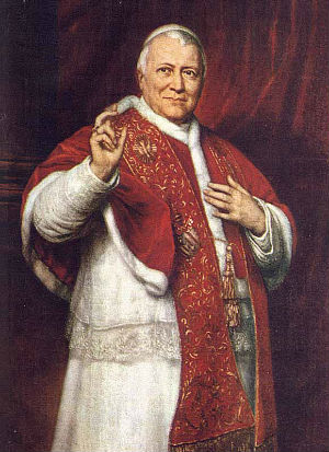 Pope Pius IX portrayed in Steven Spielberg's latest film