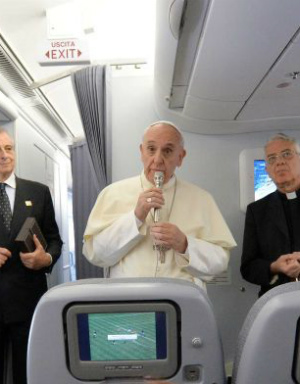 Pope Francis' Interview from Lesbos to Rome (FULL TEXT: English)