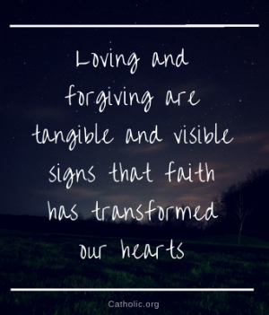 Your Daily Inspirational Meme: Loving and forgiving