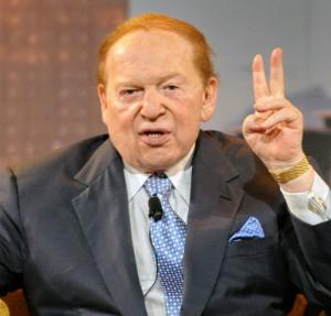 Billionaire Sheldon Adelson gives Trump $100 million boost
