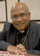 Image of Bishop Prasad Gallela was abducted on his way home from mass (CNS).