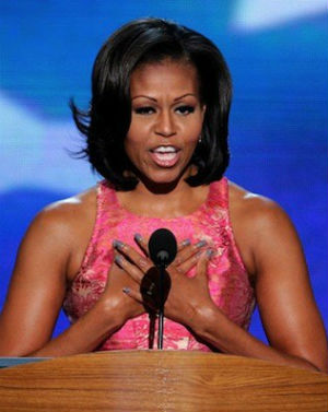 READ ALL ABOUT IT: Michelle Obama's unfortunate faux pas during Spanish speech