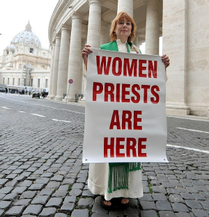 The idea of female ordination offends me
