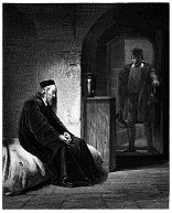 Image of Thomas More awaiting execution for his fidelity to the faith