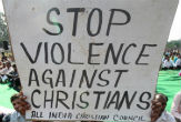 Image of Christian persecution in India heats up (dperduehenderson).