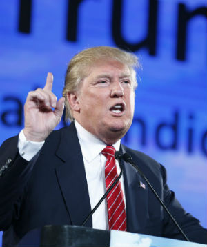 Racial profiling to protect U.S? Trump says yes