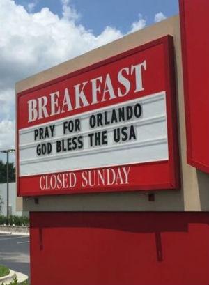 Chick-fil-A spreads the love in Orlando