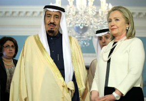 She's phenomenal at deleting things! Evidence surfaces Clinton campaign financed by Saudi prince, is promptly deleted
