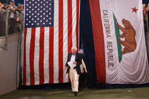 Did Bernie Sanders win California?