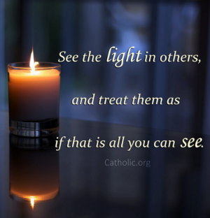 Your Daily Inspirational Meme: See the light in others