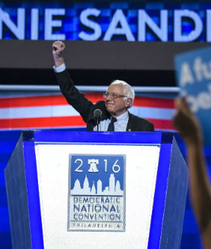 Bernie Sanders dominates first night of Democratic primary
