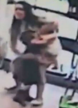 'I heard screaming': WATCH terrifying moment man attempts to snatch 4-year-old girl from mother's side