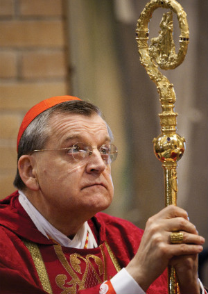 'I could very well have been killed': Powerful interview with Cardinal Burke reveals doctors pressured his mother to abort him