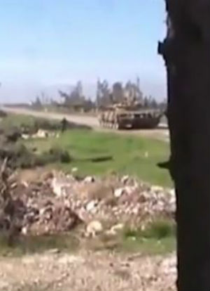 WATCH NOW: Brave rebel destroys ISIS tank with grenade