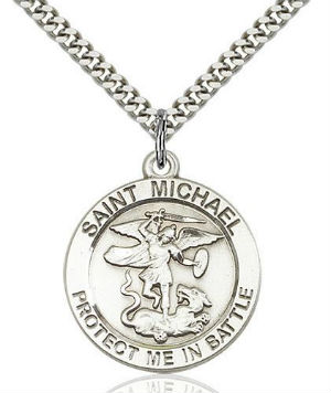25% off Sterling Silver Saint Medals: Catholic Shopping Weekend Sale